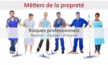 Visioconférence sur les risques professionnels des métiers de la propreté